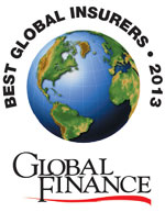Best Global Insurers 2013