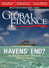 Global Finance Magazine September 2013 Cover