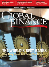 Global Finance Magazine October 2013 Cover